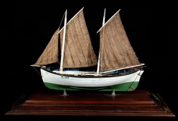 Model boat. Image © Stromness Museum.
